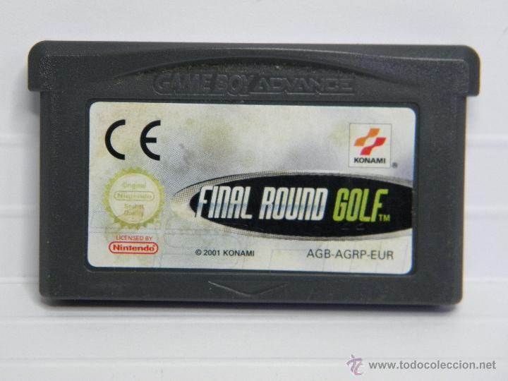 FINAL ROUND GOLF - GAMEBOY GAME BOY ADVANCE (Juguetes - Videojuegos y Consolas - Nintendo - GameBoy Advance)