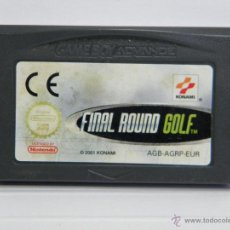 Videojuegos y Consolas: FINAL ROUND GOLF - GAMEBOY GAME BOY ADVANCE . Lote 54913787