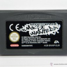 Videojuegos y Consolas: NEED FOR SPEED MOST WANTED - GAMEBOY GAME BOY ADVANCE . Lote 54934354