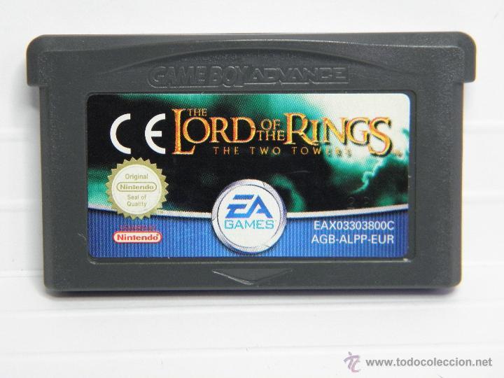 THE LORD OF THE RINGS - EL SEÑOR DE LOS ANILLOS - LAS DOS TORRES - GAMEBOY GAME BOY ADVANCE (Juguetes - Videojuegos y Consolas - Nintendo - GameBoy Advance)