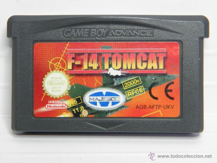 F-14 TOMCAT - GAMEBOY GAME BOY ADVANCE (Juguetes - Videojuegos y Consolas - Nintendo - GameBoy Advance)
