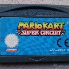 Videojuegos y Consolas: JUEGO GAMEBOY ADVANCE MARIO KART SUPER CIRCUIT . Lote 55079454