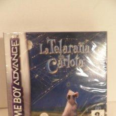 Videojuegos y Consolas: A ESTRENAR.PRECINTADO.GAME BOY GAMEBOY ADVANCE .LA TELARAÑA DE CARLOTA. VERSION ESPAÑOLA. Lote 55144888