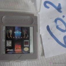 Videojuegos y Consolas: ANTIGUO JUEGO GAME BOY STARGATE. Lote 56074775