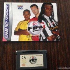 Videojuegos y Consolas: JUEGO FIFA FOOTBAL PARA GAME BOY ADVANCE CON MANUAL. Lote 56388902