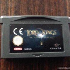 Videojuegos y Consolas: JUEGO LORD OF RINGS PARA GAME BOY ADVANCE. Lote 56388945
