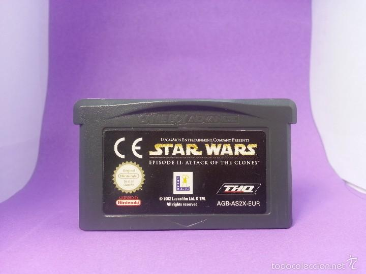 STAR WARS EPISODIO II: ATTACK OF THE CLONES PARA GAME BOY ADVANCE - EL ATAQUE DE LOS CLONES - GBA (Juguetes - Videojuegos y Consolas - Nintendo - GameBoy Advance)