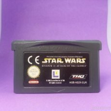 Videojuegos y Consolas: STAR WARS EPISODIO II: ATTACK OF THE CLONES PARA GAME BOY ADVANCE - EL ATAQUE DE LOS CLONES - GBA. Lote 56399567