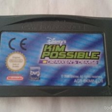 Videojuegos y Consolas: DISNEY KIM POSSIBLE DRAKKEN´S DEMISE GAME BOY GAME BOY ADVANCE, SP. PAL GBA. Lote 56584614
