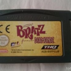 Videojuegos y Consolas: BRATZ DIAMONDZ GAME BOY GAME BOY ADVANCE, SP. PAL GBA. Lote 56584702