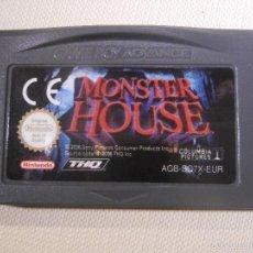 Videojuegos y Consolas: JUEGO PARA CONSOLA - GAME BOY - ADVANCE - MONSTER HOUSE -. Lote 56805847
