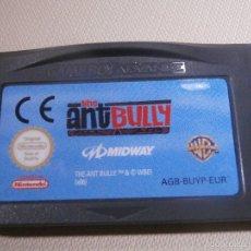Videojuegos y Consolas: JUEGO PARA CONSOLA - GAME BOY - ADVANCE - THE ANT BULLY -. Lote 56803394