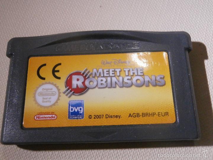 JUEGO PARA CONSOLA - GAME BOY - ADVANCE - MEET THE ROBINSONS - (Juguetes - Videojuegos y Consolas - Nintendo - GameBoy Advance)