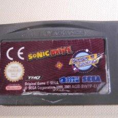 Videojuegos y Consolas: JUEGO PARA CONSOLA - GAME BOY - ADVANCE - SONIC BATTLE -. Lote 56804277