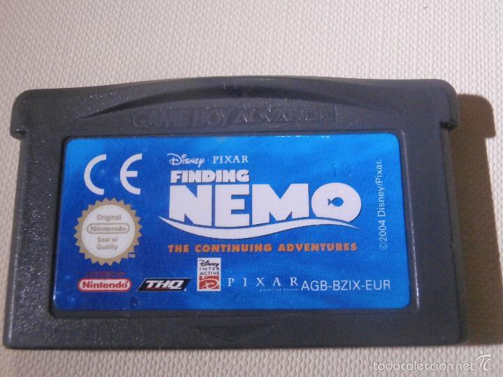JUEGO PARA CONSOLA - GAME BOY - ADVANCE - BUSCANDO A NEMO - (Juguetes - Videojuegos y Consolas - Nintendo - GameBoy Advance)