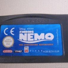 Videojuegos y Consolas: JUEGO PARA CONSOLA - GAME BOY - ADVANCE - BUSCANDO A NEMO -. Lote 56805505