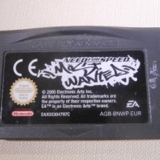 Videojuegos y Consolas: JUEGO PARA CONSOLA - GAME BOY - ADVANCE - NEED FOR SPEED MOST WANTED -. Lote 56805719