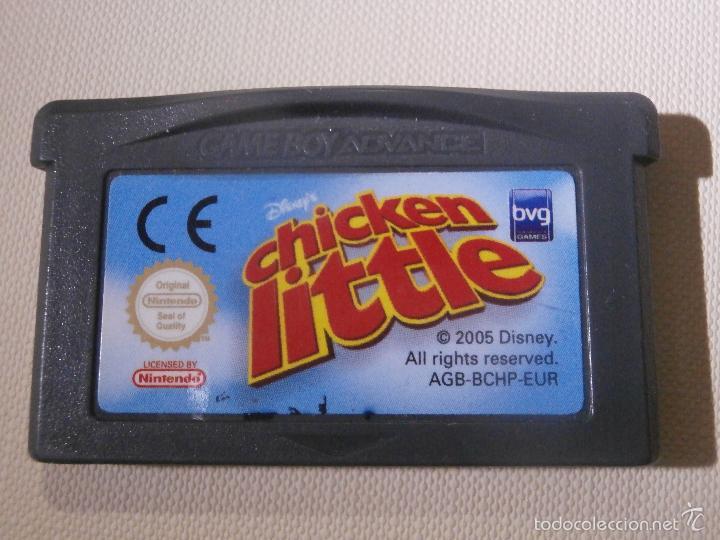 JUEGO PARA CONSOLA - GAME BOY - ADVANCE - CHICKEN LITTLE - (Juguetes - Videojuegos y Consolas - Nintendo - GameBoy Advance)