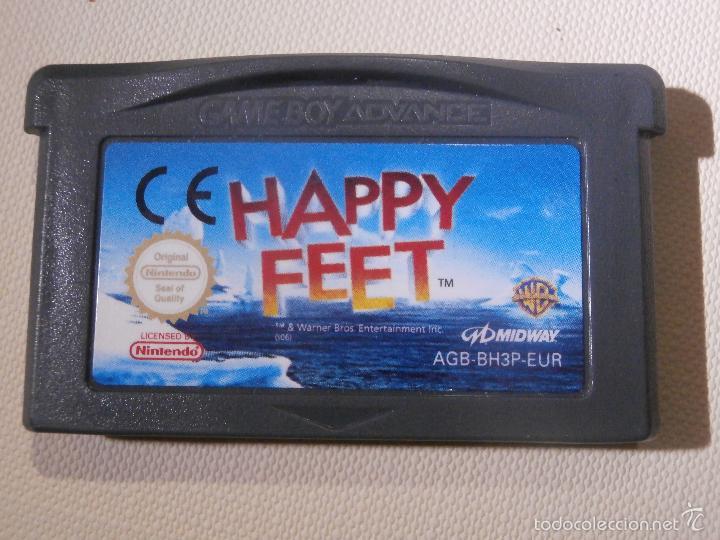 JUEGO PARA CONSOLA - GAME BOY - ADVANCE - HAPPY FEET - (Juguetes - Videojuegos y Consolas - Nintendo - GameBoy Advance)