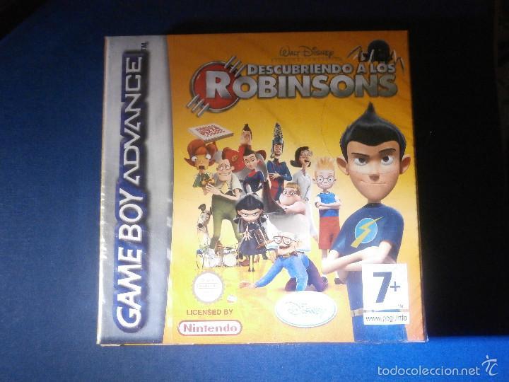 JUEGO PARA CONSOLA - GAME BOY - ADVANCE - DESCUBRIENDO A LOS ROBINSONS - NUEVO SIN DESPRECINTAR (Juguetes - Videojuegos y Consolas - Nintendo - GameBoy Advance)
