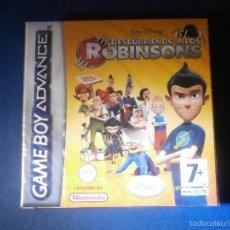 Videojuegos y Consolas: JUEGO PARA CONSOLA - GAME BOY - ADVANCE - DESCUBRIENDO A LOS ROBINSONS - NUEVO SIN DESPRECINTAR. Lote 69889817