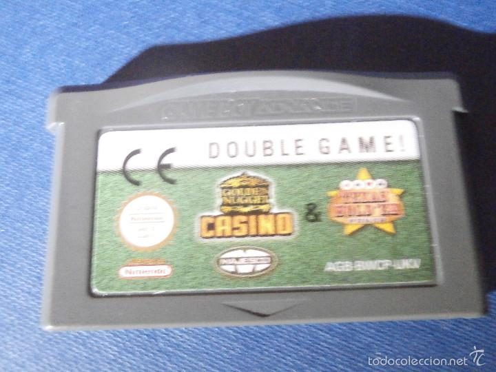 JUEGO PARA CONSOLA - GAME BOY - ADVANCE - DOUBLE GAME . CASINO - TEXAS HOLD´EM - (Juguetes - Videojuegos y Consolas - Nintendo - GameBoy Advance)
