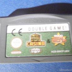 Videojuegos y Consolas: JUEGO PARA CONSOLA - GAME BOY - ADVANCE - DOUBLE GAME . CASINO - TEXAS HOLD´EM - . Lote 56963650