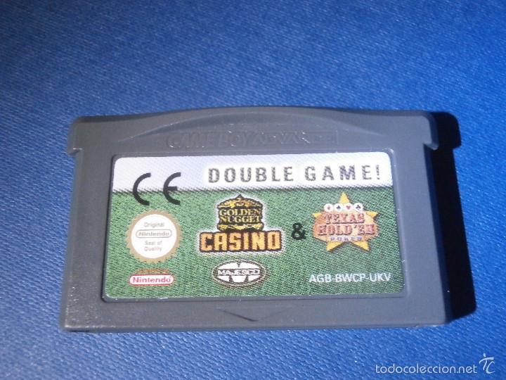 Videojuegos y Consolas: JUEGO PARA CONSOLA - GAME BOY - ADVANCE - Double Game . Casino - Texas Hold´em - - Foto 2 - 56963650