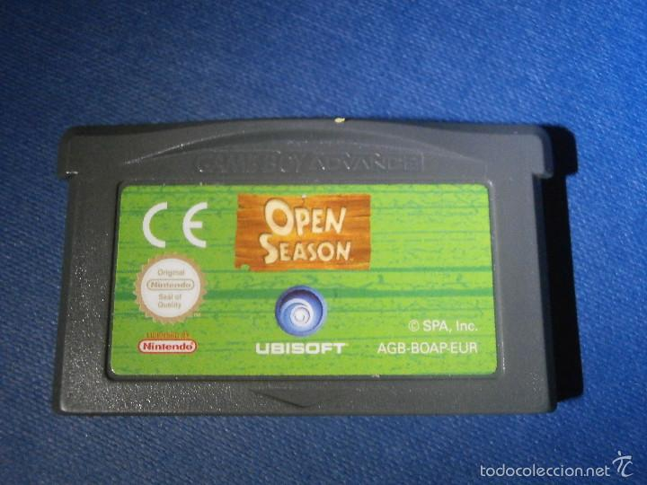 JUEGO PARA CONSOLA - GAME BOY - ADVANCE - OPEN SEASON - (Juguetes - Videojuegos y Consolas - Nintendo - GameBoy Advance)