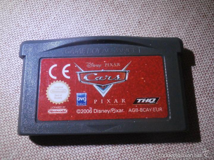JUEGO PARA CONSOLA - GAME BOY ADVANCE - CARS - DISNEY PIXAR - (Juguetes - Videojuegos y Consolas - Nintendo - GameBoy Advance)