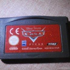 Videojuegos y Consolas: JUEGO PARA CONSOLA - GAME BOY ADVANCE - CARS - DISNEY PIXAR -. Lote 56982252
