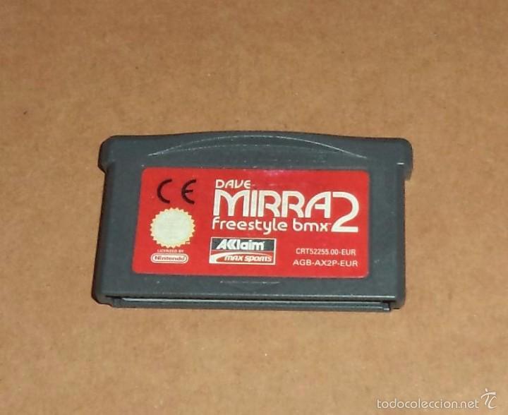 DAVE MIRRA FREESTYLE BMX 2 PARA NINTENDO GAMEBOY ADVANCE / GBA, PAL (Juguetes - Videojuegos y Consolas - Nintendo - GameBoy Advance)