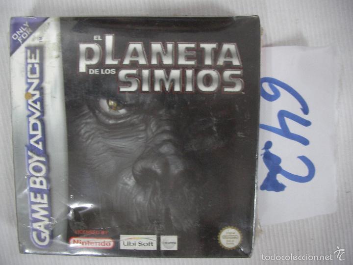 ANTIGUO JUEGO GAMEBOY ADVANCE SIN USAR CON CAJA INSTRUCCIONES PRECINTADO - EL PLANETA DE LOS SIMIOS (Juguetes - Videojuegos y Consolas - Nintendo - GameBoy Advance)