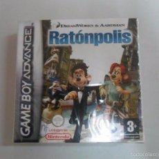 Videojuegos y Consolas: RATONPOLIS - NUEVO PRECINTADO GAME BOY ADVANCE GBA PAL ESP. Lote 58465449