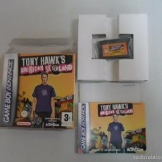 Videojogos e Consolas: TONY HAWK'S AMERICAN SKATELAND - GAMEBOY - GBA - GAME BOY ADVANCE - PAL ESPAÑA. Lote 58465502