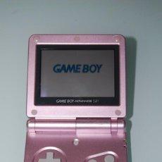 Videojuegos y Consolas: GAME BOY ADVANCE SP ROSA. Lote 59548435