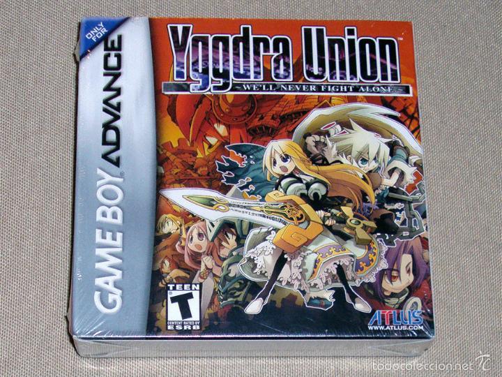 YGGDRA UNION: WE'LL NEVER FIGHT ALONE, PRECINTADO VER USA -GBA- (Juguetes - Videojuegos y Consolas - Nintendo - GameBoy Advance)