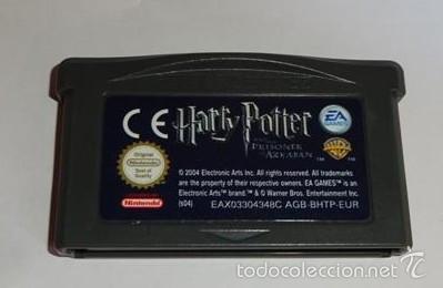 Juego Game Boy Advance Gba Harry Potter Y El Comprar Videojuegos