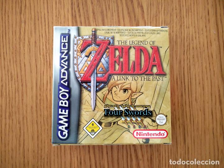 Zelda A Link To The Past Four Swords Juego Comprar