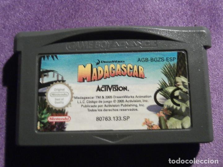 Juego Para Consola Game Boy Advance Madag Comprar