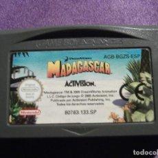 Videojuegos y Consolas: JUEGO PARA CONSOLA - GAME BOY - ADVANCE - MADAGASCAR - 80763.133.SP. Lote 61645132