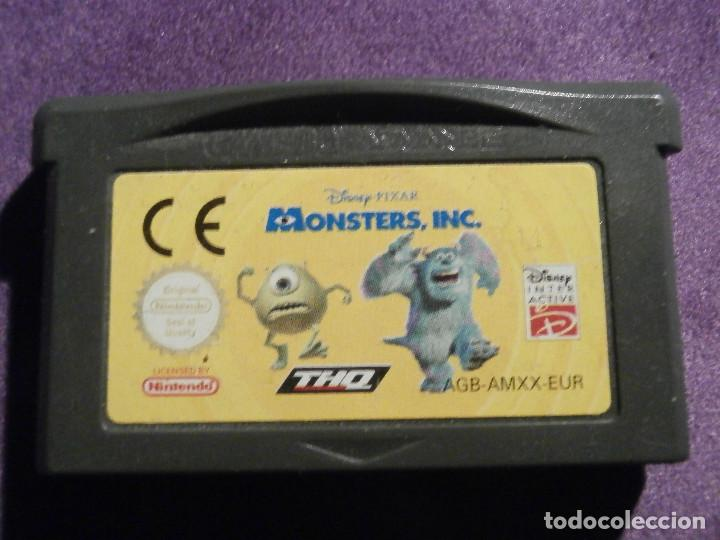 Juego Para Consola Game Boy Advance Monst Comprar