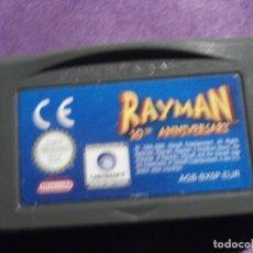 Videojuegos y Consolas: JUEGO PARA CONSOLA - GAME BOY - ADVANCE - RAYMAN - 10TH ANIVERSARIO - AGB-BX5P-EUR. Lote 61645340