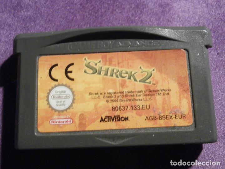 JUEGO PARA CONSOLA - GAME BOY - ADVANCE - SHREK 2 - DOS - II - 2 - AGB-BSEX-EUR (Juguetes - Videojuegos y Consolas - Nintendo - GameBoy Advance)