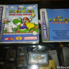 Videojuegos y Consolas: SUPER MARIO WORLD 2,GAMEBOY ADVANCE. Lote 62252791