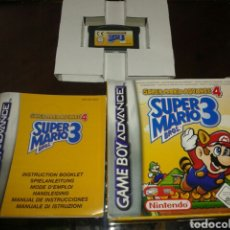 Videojuegos y Consolas: SUPER MARIO BROS 3,PAL,COMPLETO,GBA,GAMEBOY ADVANCE. Lote 62259171