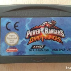 Videojuegos y Consolas: VIDEOJUEGO PARA GAME BOY ADVANCE -- POWER RANGERS, DINOTHUNDER-- NINTENDO --. Lote 62524520