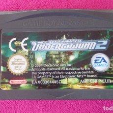 Videojuegos y Consolas: JUEGO GAMEBOY GAME BOY ADVANCE NEED FOR SPEED UNDERGROUND 2. Lote 63653947
