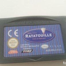 Videojuegos y Consolas: DISNEY PIXAR RATATOUILLE GAMEBOY GAME BOY ADVANCE PAL EUR . Lote 64698935
