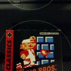 Videojuegos y Consolas: NES CLASSICS - SUPER MARIO BROS GAMEBOY ADVANCE. Lote 68612625